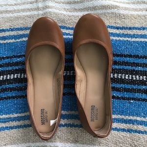 Shoes - MOSSIMO BROWN BALLET FLATS